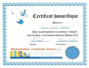 certificat LM