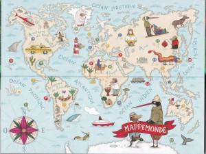 Carte aventures improbables
